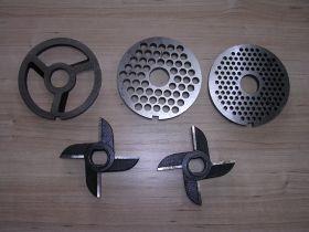 Мясорубка пром. МИМ-600 Комплект ножей и решеток (с/буртом)