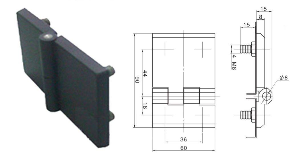 Петля 90 мм Alz (Арт: 41990)