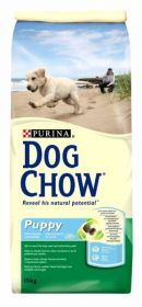 DOG CHOW PUPPY -  для щенков всех пород Курица и Рис 14 кг