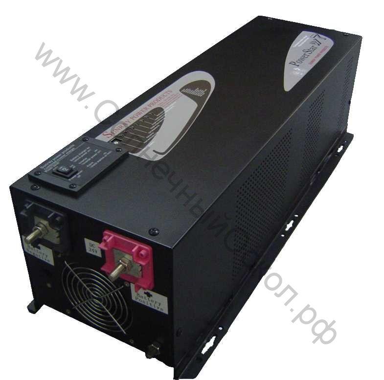 Инвертор чистый синус PSW7 3012 3000W 24VDC 50hz/60hz LCD