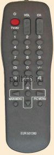 Пульт ДУ Panasonic EUR 501380