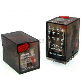 Реле RE-403ALTU  5А, 4С, 24VDC
