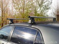 Багажник на крышу Toyota Auris, Атлант, аэродинамические дуги