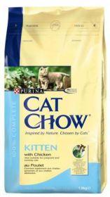 CAT CHOW KITTEN сухой 15кг для котят Курица с Рисом
