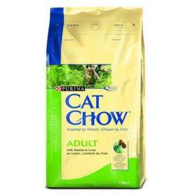 CAT CHOW ADULT сухой 15кг Утка
