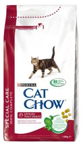 CAT CHOW SHECIAL CARE URINARY сухой 15 кг для кошек с Мочекаменной Болезнью