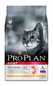 PRO PLAN ADULT сухой 10 кг для кошек Курица с Рисом