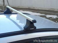 Багажник на крышу Nissan Wingroad, Атлант, прямоугольные дуги