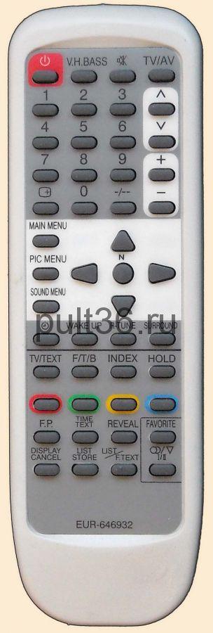 Пульт ДУ Panasonic EUR 646932