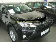 Дефлектор капота (мухобойка) для Toyota Rav 4 2013 -