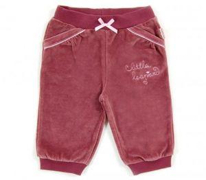 Велюровые брюки для девочки К4215