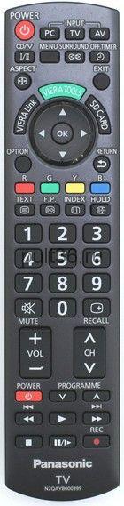 Пульт ДУ Panasonic N2QAYB000399 (N2QAYB000370)