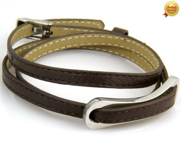 Кожаный браслет 430NT-Shir