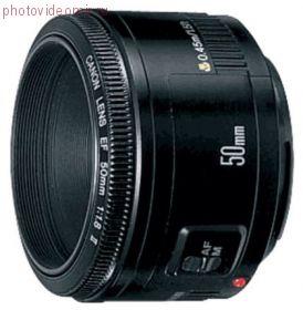 Арендовать Объектив Canon EF 50mm f1.8 II