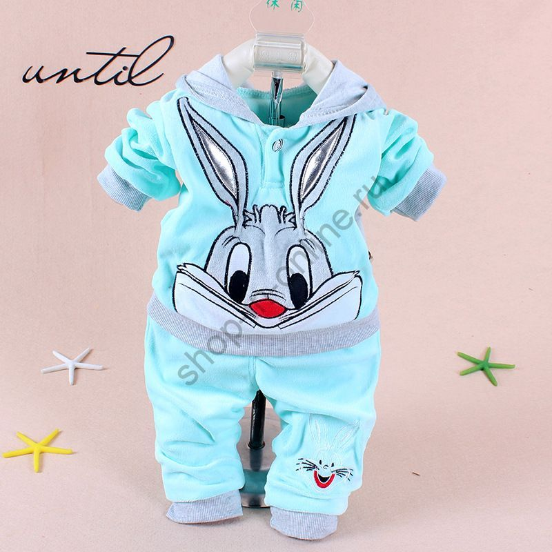 Костюм с капюшоном Бархатный кролик