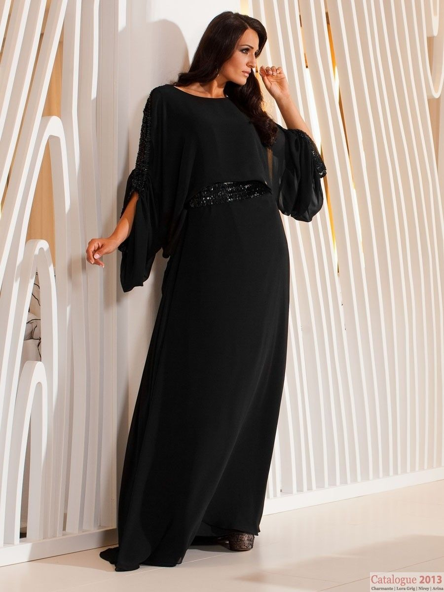 Длинные Черные Платья Больших Размеров