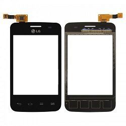 Тачскрин LG E435 Optimus L3 2 Dual (black) Оригинал