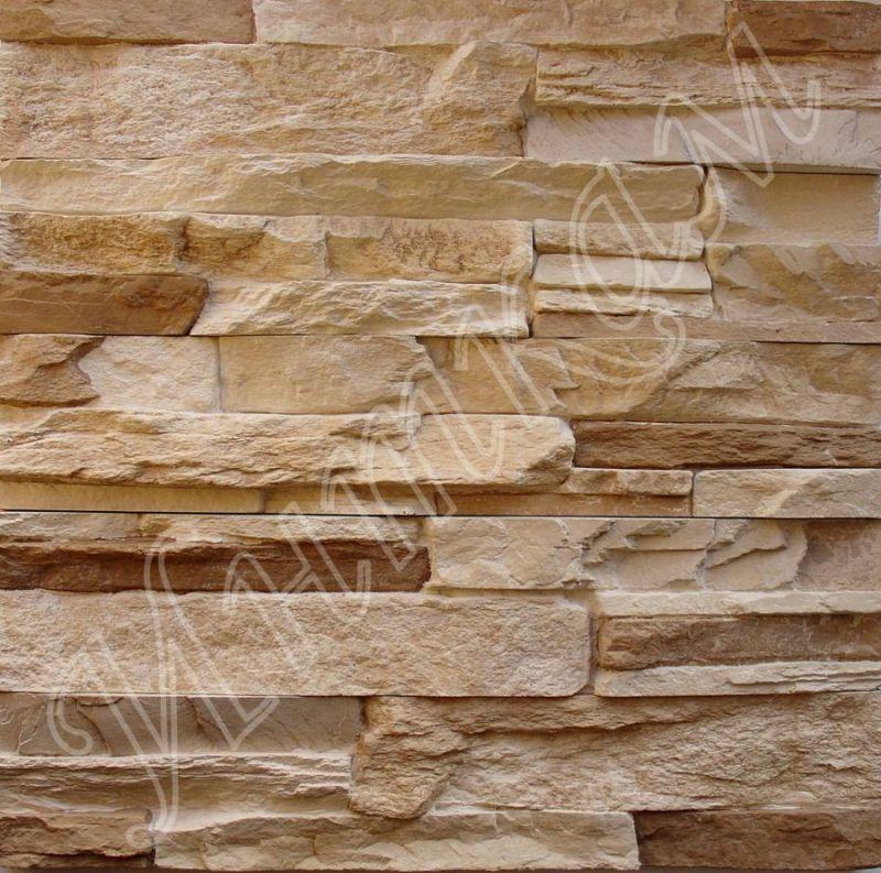 Декор. камень 052 коричневый