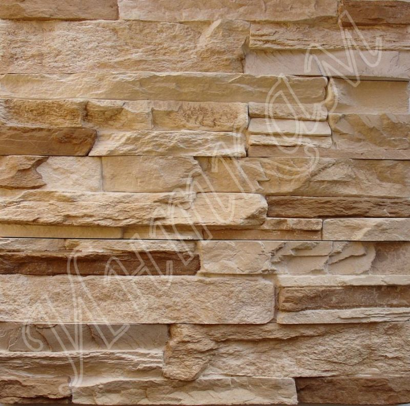 Декор. камень 052 бежевый