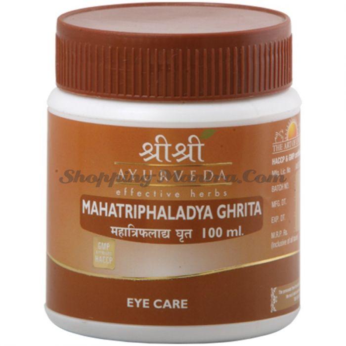 Махатрифаладья Гхрита для здоровья глаз Шри Шри Аюрведа (Sri Sri Mahatriphaladya Ghrita)
