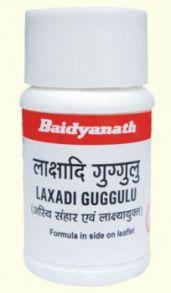 Лакшади Гуггул (Lakshadi guggul, Baidyanath), 80 таб.