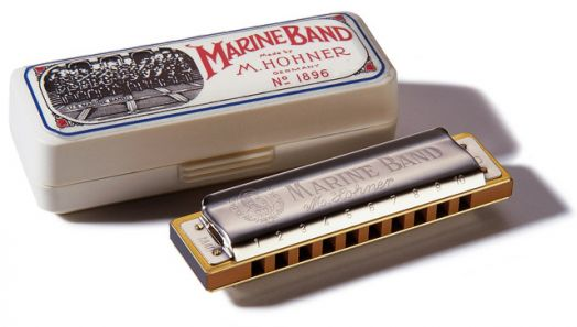 HOHNER Marine Band 1896/20 A (M1896106) Губная гармоника ля-мажор