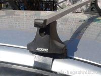 Багажник на крышу на Hyundai Matrix, Атлант, прямоугольные дуги