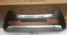 Накладка на передний бампер для Toyota Rav 4 2013 -