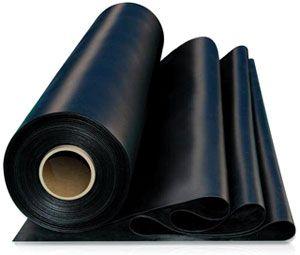 Плёнка п/э  80мк (рук 1,5 100 м )черная