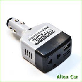 Инвертер автомобильный с 12В / 24В на 220В с USB-портом