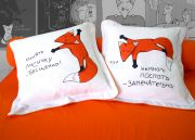 подушки - Обнять Лисичку