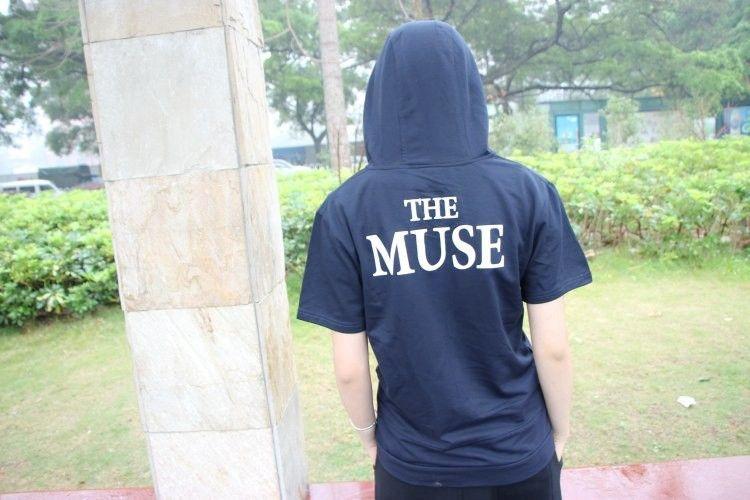 """Летнее худи с капюшоном """"The MUSE"""""""