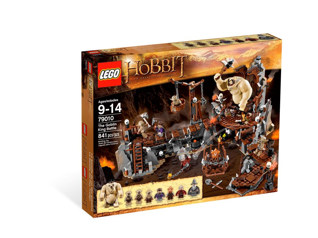 79010 Хоббит: Битва с королем гоблинов Конструктор ЛЕГО