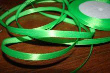 Атласная лента светло-зеленая