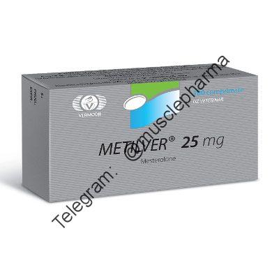 METILVER (МЕТИЛВЕР). 100 таб. по 25 мг. КУПИТЬ