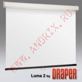 "Настенный экран Draper Luma 2 305x305 MW 120"" (1:1) case white"