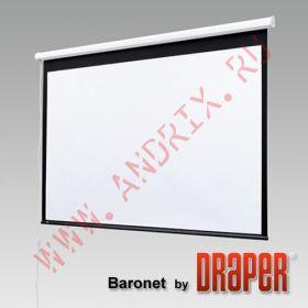 "Экран с электроприводом Draper Baronet 96/96"" 244x244 MW (1:1)"