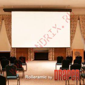 Экран с электроприводом Draper Rolleramic 376x503 MW (3:4)