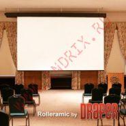 Экран с электроприводом Draper Rolleramic 300x401 MW (3:4)