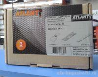Багажник на крышу Kia Soul, Атлант, прямоугольные дуги