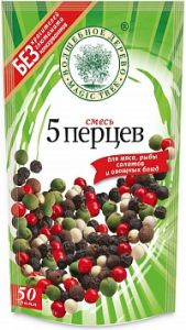 """ВД ДОЙ-ПАК Смесь """"5 перцев"""" горошком 50 г"""