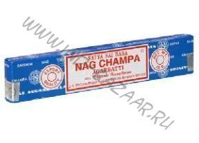 Аромапалочки Nag champa Sai Baba agarbatti 15 г