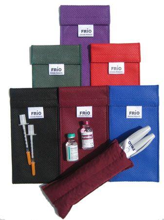 Индивидуальный чехол для хранения инсулина, Duo Wallet  ( 80х180 мм )