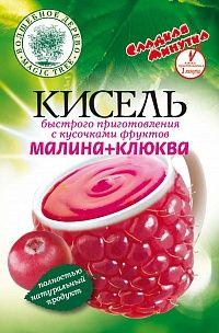 """ВД Кисель быстрого приготовления """"Малина + Клюква"""""""