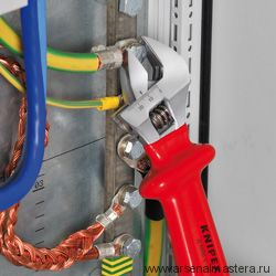 Разводной ключ VDE 1000V KNIPEX 98 07 250