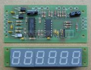 Светодиодный индикатор частоты до 70мГц