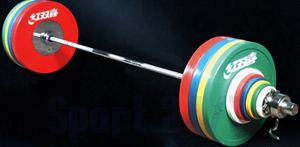 Штанга DHS Olympic для соревнований  140 кг., аттестованная IWF
