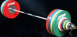 Штанга DHS Olympic для соревнований 240 кг аттестованная IWF