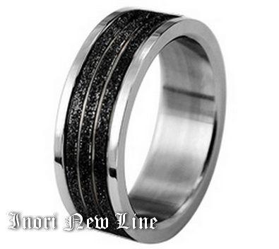Кольцо Inori New Line c чернением