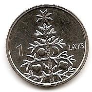 Рождественская ёлка 1 лат Латвия 2009
